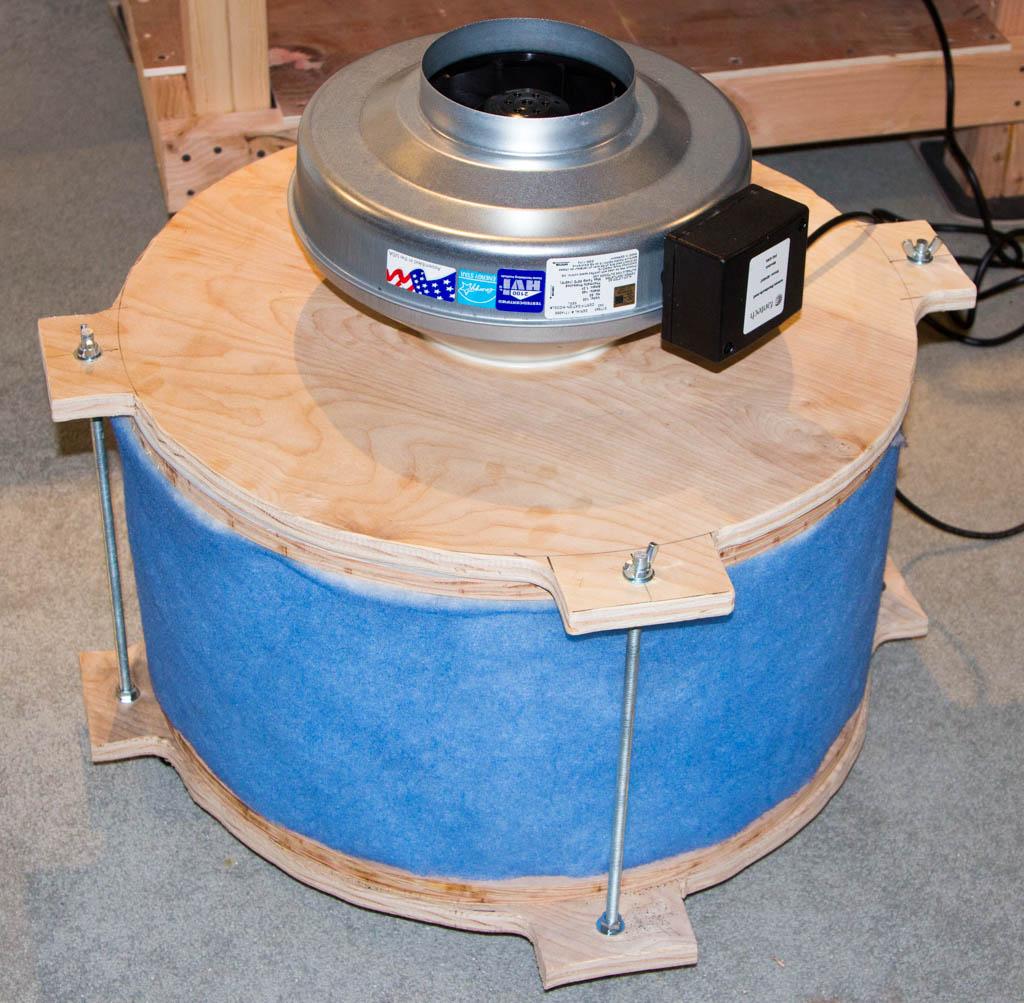 DIY Fume Extractor for laser cutter - LensDigital